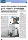 Extraction haute et turbine pignon